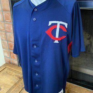 Minnesota Twins MLB Mens Jersey L Majestic